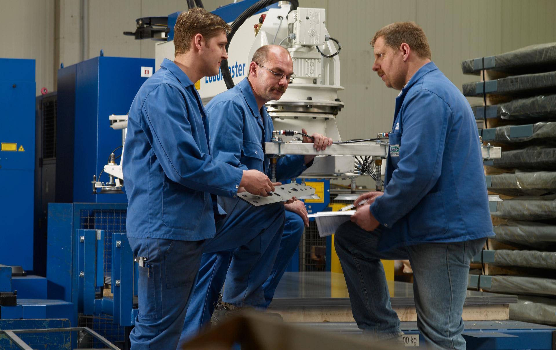 Glüpker Blechtechnologie Neuenhaus: Karriere / Career