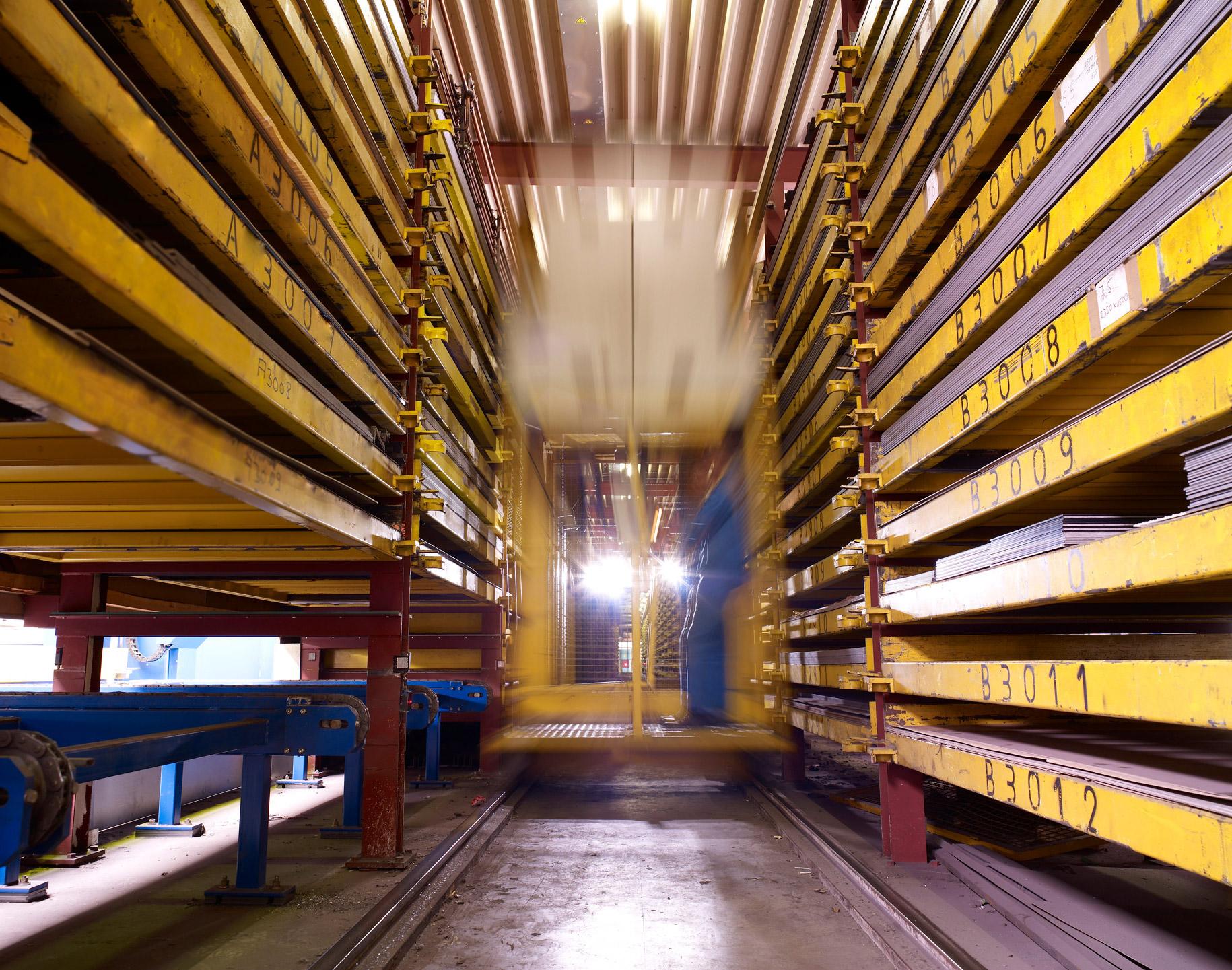 Glüpker Blechtechnologie: Prozesse